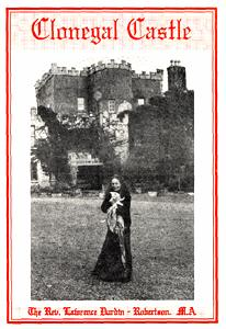 Cover to the Guide to Clonegal Castle