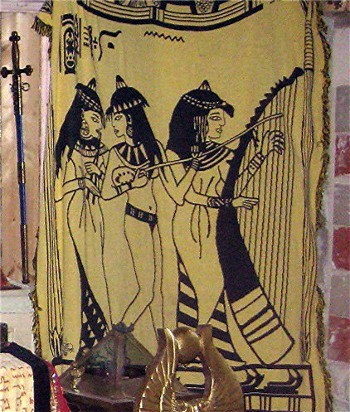 3 Muses Tapestry