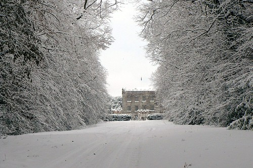 Clonegal Castle in Snow